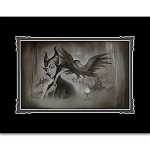 Maleficent My Pet You Are My Last Hope Deluxe Print by Noah