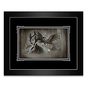 Maleficent My Pet You Are My Last Hope Framed Deluxe Print by Noah
