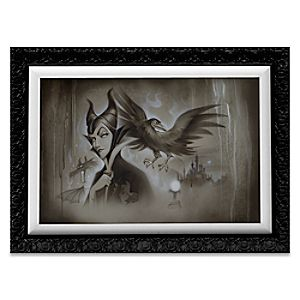 Maleficent My Pet You Are My Last Hope Limited Edition Giclée by Noah