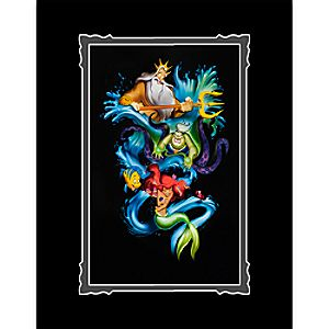 The Little Mermaid Ariels Innocence Deluxe Print by Noah