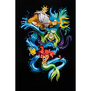 The Little Mermaid Ariels Innocence Limited Edition Giclée by Noah