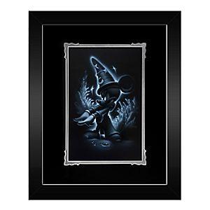 Sorcerer Mickey Framed Deluxe Print by Noah