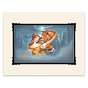 Beauty and the Beast Evening Waltz Deluxe Print by Noah