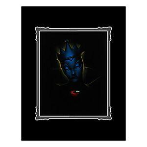 Villains Evil Queen Deluxe Print by Noah