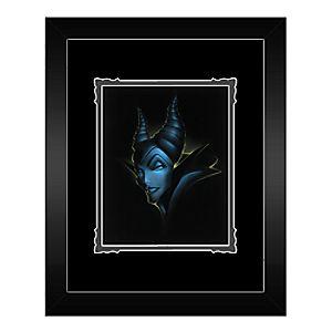 Villains Evil Queen Framed Deluxe Print by Noah