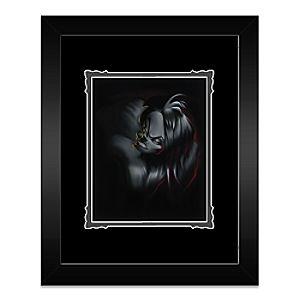 Villain Cruella Framed Deluxe Print by Noah