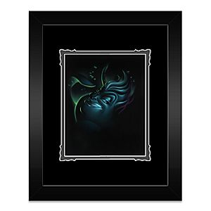 Villain Ursula Framed Deluxe Print by Noah
