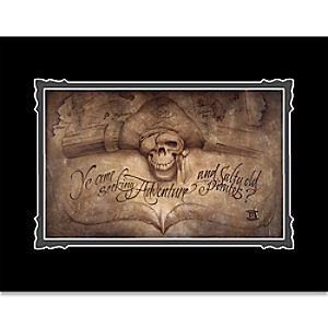 Pirates of the Caribbean High Seas Adventure Deluxe Print by Noah