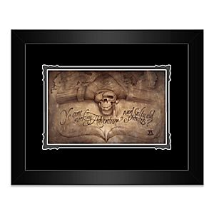 Pirates of the Caribbean High Seas Adventure Framed Deluxe Print by Noah