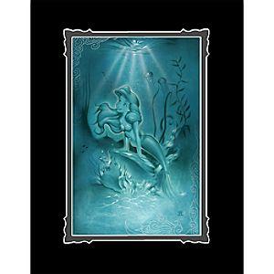 Ariel Little Mermaid Deluxe Print by Noah