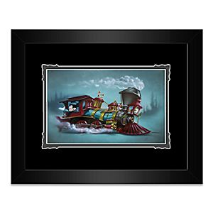 Mickey Mouse Lil Engineer Framed Deluxe Print by Noah