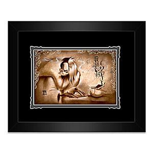 Cruella De Vil Name Your Price Framed Deluxe Print by Noah