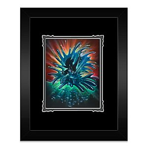 Mickey Mouse World of Color Framed Deluxe Print by Noah