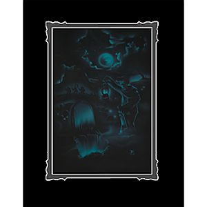 The Haunted Mansion Room for One More Deluxe Print by Noah