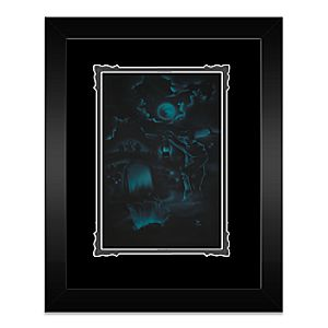 The Haunted Mansion Room for One More Framed Deluxe Print by Noah