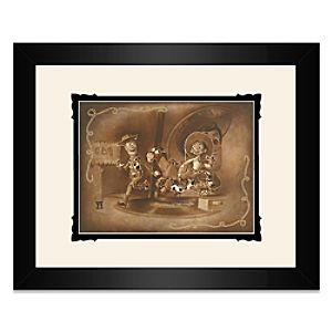 Toy Story Round Up Gang Framed Deluxe Print by Noah