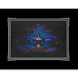 Disneyland While Everyone Sleeps Deluxe Print by Noah