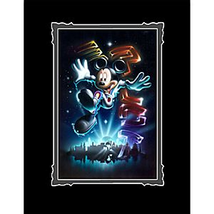 Mickey Mouse The 21st Century Begins Deluxe Print by Noah