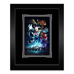 Mickey Mouse The 21st Century Begins Framed Deluxe Print by Noah