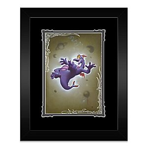 Figment Framed Deluxe Print by Noah