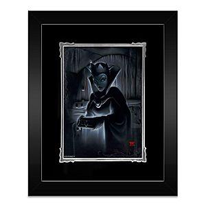 Evil Queen Heartless Evil Queen Framed Deluxe Print by Noah