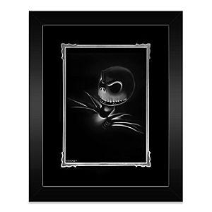 Jack Skellington Jack Framed Deluxe Print by Noah