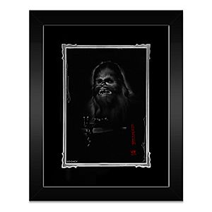 Chewbacca Framed Deluxe Print by Noah