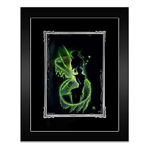 Tinker Bell Faith, Trust and Pixie Dust Framed Deluxe Print by Noah