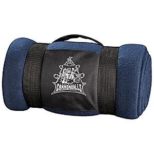 March Magic Fleece Blanket - Caribbean Cannonballs - Disneyland - Limited Release