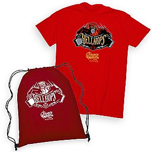 March Magic Tee for Adults with Cinch Sack - Hollywood Tower Hotel Bellhops - Walt Disney World - 2016 Winner - Limited Release