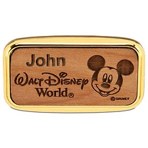 Personalizable Walt Disney World Mickey Mouse Magnet by Arribas