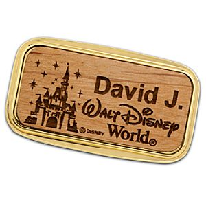 Personalizable 2012 Walt Disney World Castle Money Clip by Arribas