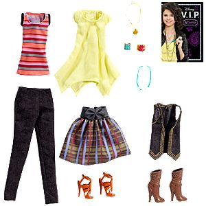 Alex Russo Fashion and Accessory Pack by Mattel -- 13-Pc.