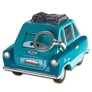 Cars 2 Make-a-Face Professor Z Vehicle