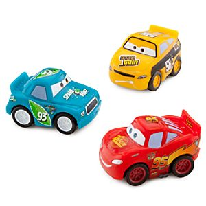 Cars Micro Drifters: Lightning McQueen, Octane Gain No. 58 and Spare O Mint No. 93 Set -- 3-Pk.