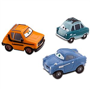 Cars Micro Drifters: Grem, Professor and Finn McMissile Set -- 3-Pk.