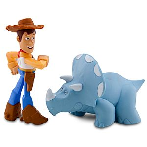 Toy Story Color Change Splash Buddies -- Walking Woody & Trixie
