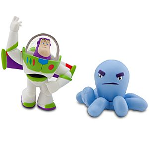 Toy Story Color Change Splash Buddies -- Spanish Buzz Lightyear & Stretch