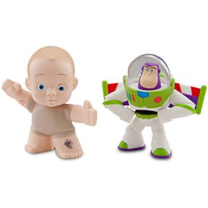 Toy Story Color Change Splash Buddies -- Hero Buzz Lightyear & Big Baby