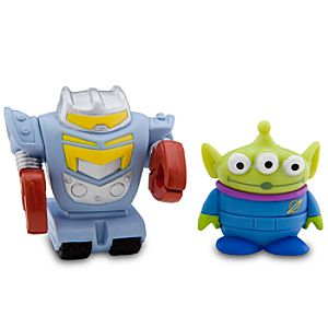 Toy Story Color Change Splash Buddies -- Space Alien & Sparks