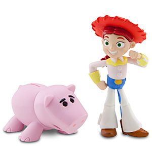Toy Story Color Change Splash Buddies -- Jessie & Hamm