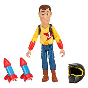 Toy Story RCs Race Action Figure 7 -- Woody with Turbo Rockets