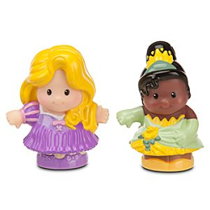 Rapunzel and Tiana - Little People® - 2 Pack
