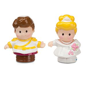 Cinderella and Prince Charming - Little People® - 2 Pack