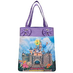 Disney Storybook Attractions Disneyland Tote Bag