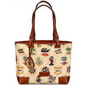 Disney Cruise Line Disney Dream Tote Bag by Dooney & Bourke -- Medium