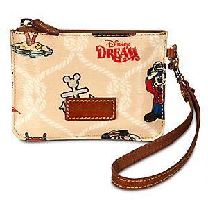 Disney Cruise Line Disney Dream Wristlet by Dooney & Bourke -- Medium