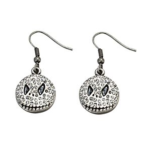 Rhinestone Jack Skellington Earrings
