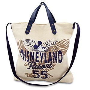 Disneyland Resort Mickey Mouse Canvas Tote