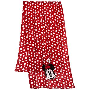 Polka Dot Minnie Mouse Scarf